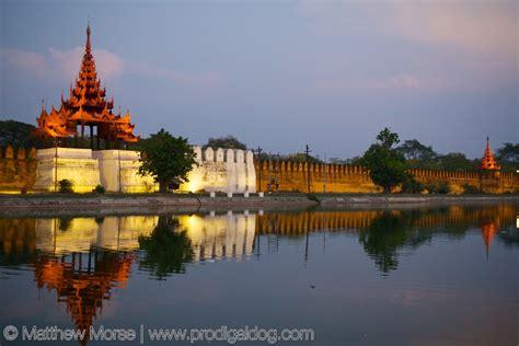 Mandalay Palace Walls - The Prodigal Dog