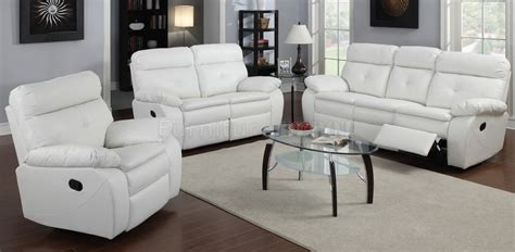 Small White Loveseat by White Leather Reclining Sofa Smalltowndjs