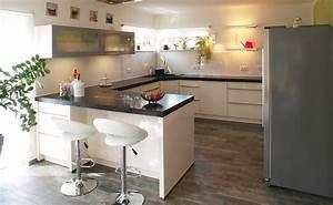 Side By Side In Küche Integrieren : g form k che k chen info ~ Markanthonyermac.com Haus und Dekorationen