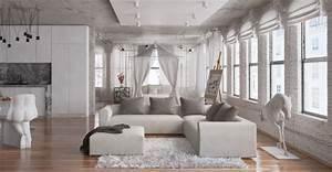 Moderne Wohnzimmer Teppiche : moderne wohnzimmer 24 interieur ideen mit tollem design ~ Sanjose-hotels-ca.com Haus und Dekorationen