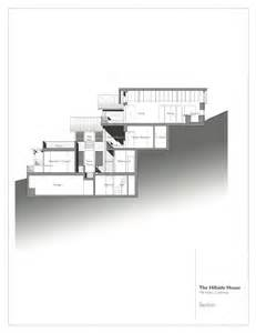 house plans for narrow lots gallery of hillside house sb architects 20
