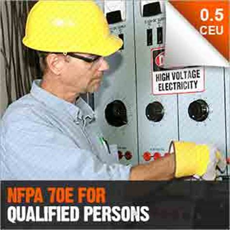 nfpa    qualified persons   industries
