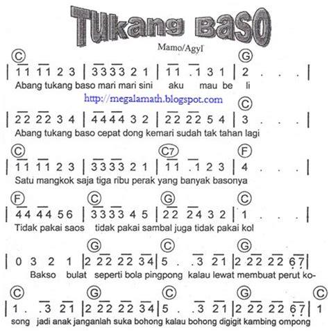 kunci pianika bunda 7 koleksi not angka lagu anak anak not angka lagu terbaru