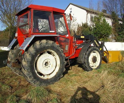 traktor mit frontlader und allrad traktor schlepper fiat 780 dt mit allrad und frontlader on