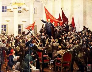 la Gran Revolución Socialista de Octubre - 1917