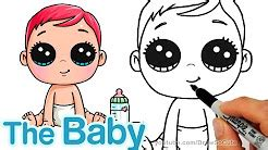 draw cute baby youtube