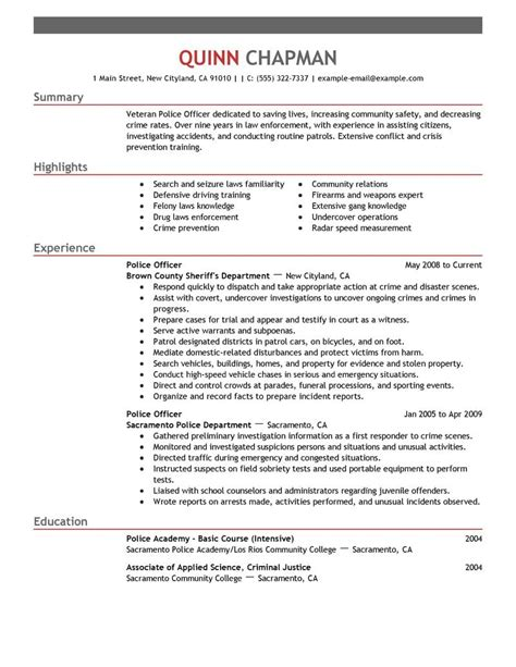 Best Police Officer Resume Example  Livecareer. Objective Wording For Resume. Software Engineer Resume Objective. Legal Assistant Resumes. Sample Of Chronological Resume. Sample Resume For Kindergarten Teacher. Parts Of A Resume Worksheet. Sample Resume And Application Letter. Management Consulting Resume Sample
