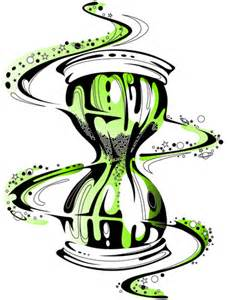 Hourglass Tattoo Designs