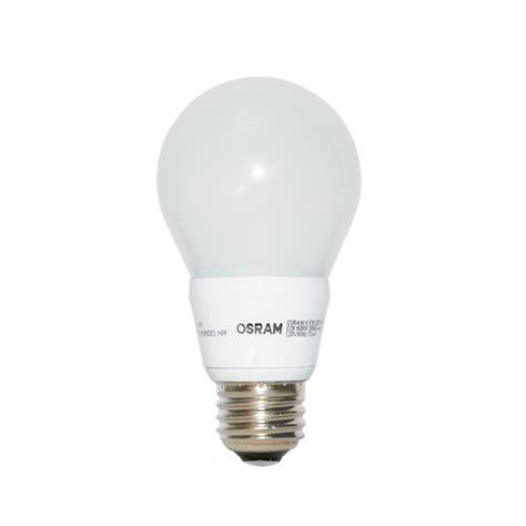 led light daylight shop osram 60w equivalent dimmable daylight a19 led light