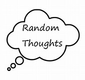 Image result for Random Thought