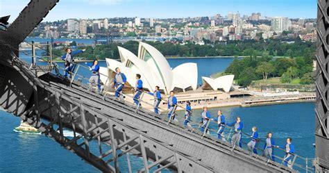 sydney harbour bridge climb rtw backpackers