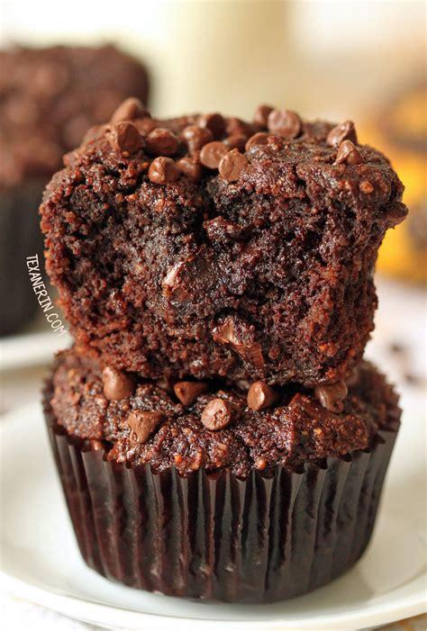 paleo chocolate banana muffins grain  gluten