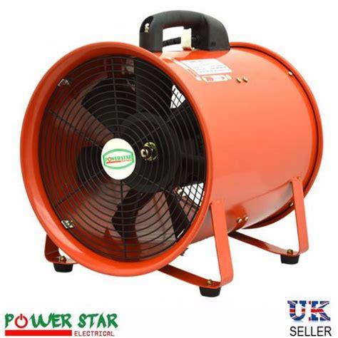 portable ventilator industrial axial metal blower workshop