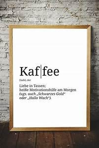 Poster Für Küche : premium spruch poster definition kaffee versch nere ~ Watch28wear.com Haus und Dekorationen