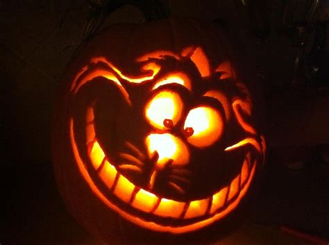 Cheshire Cat So Much Fun Carving This Pumpkin I