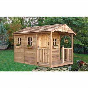 Outdoor, Living, Today, Santa, Rosa, 8, Ft, W, X, 12, Ft, D, Wood, Storage, Shed, U0026, Reviews