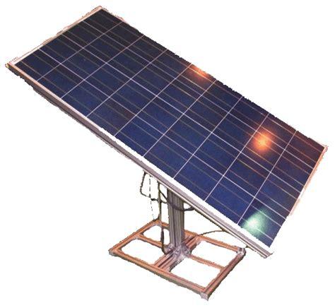 Трекер для солнечных панелей своими руками