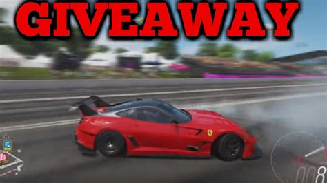 In this guide, we show you how to tune and upgrade your cars in forza horizon 4. Ferrari 599XX E Giveaway FORZA HORIZON 4 - YouTube