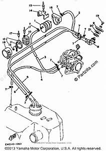 Yamaha Waverunner 1991 Oem Parts Diagram For Fuel Filter