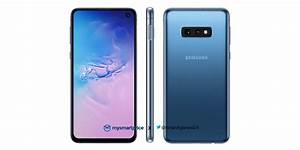 Samsung Galaxy S10 Leaks In Blue Color  Headphone Jack Ad