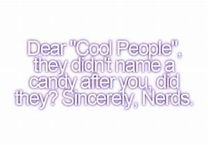 Quotes By Nerds... Cool Nerd Quotes