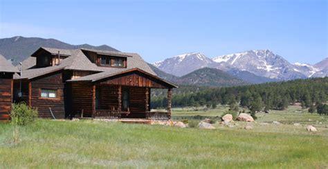 rocky mountain national park cabins estes park and rocky mountain national park