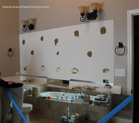 How Do You Remove A Bathroom Mirror by How To Remove Builder Mirrors Sawdust 174