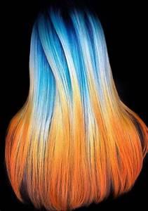 48 best blue orange hair colors combinations for 2018