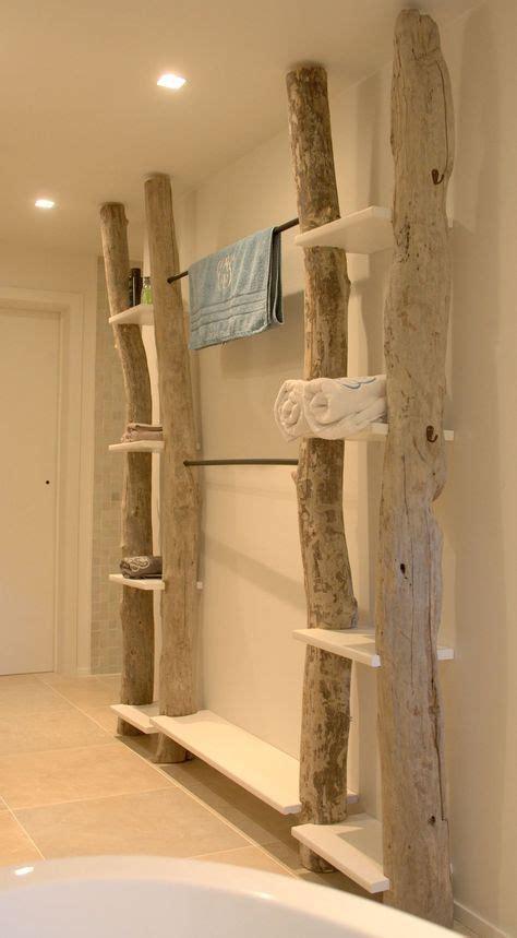 Badezimmermöbel Westwing by Au 223 Ergew 246 Hnliches Holz Regal Mit Handtuchhalter Sorgt F 252 R
