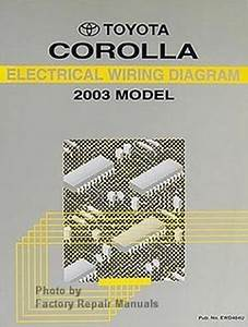 2003 Toyota Corolla Electrical Wiring Diagrams