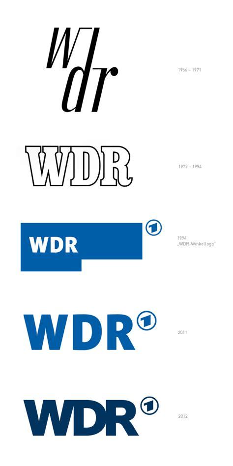 wdr logohistorie design tagebuch