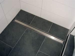 Dusche Bodengleich Fliesen : bodenebene geflieste dusche wer hat erfahrung wer weiss ~ Markanthonyermac.com Haus und Dekorationen