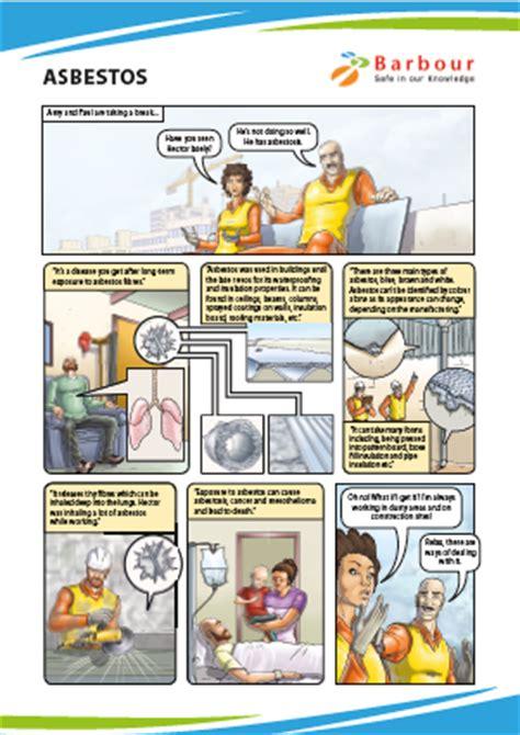 safety cartoons asbestos
