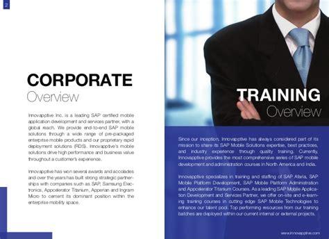 Innovapptive training courses brochure 2014