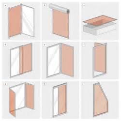 balkon rollo insektenschutz balkontür ohne bohren mit magnetverschluss
