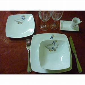 Service De Table Porcelaine : service de table vaisselle en porcelaine centre vaisselle porcelaine blanche et d cor e ~ Teatrodelosmanantiales.com Idées de Décoration