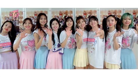Twice Japan Debut 1周年 感謝コメント