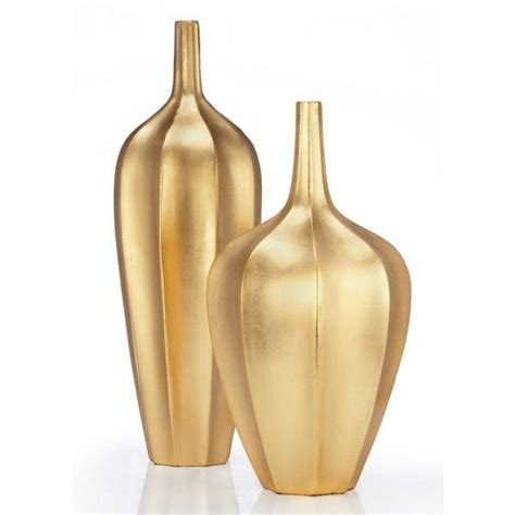 Gold Vases by Accolade Vase 60 Liked On Polyvore Featuring Home Home