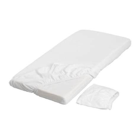 len drap housse pour lit b 233 b 233 blanc ikea