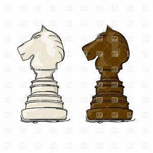 Chess knight drawing, Sport and Leisure, download Royalty ...