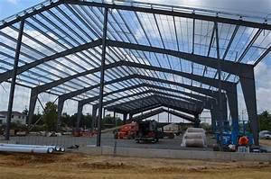 Single Span Pre-engineering Building Prefabricated Light ...