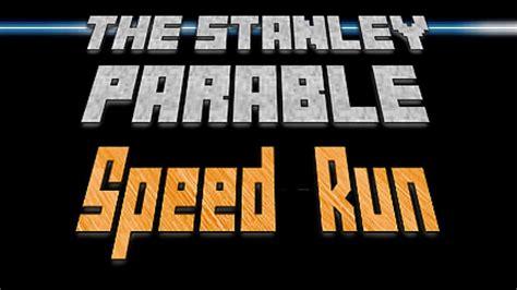 stanley parable     speed run achievement