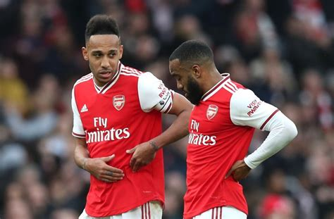 Lacazette: Arsenal no longer discuss Aubameyang future ...