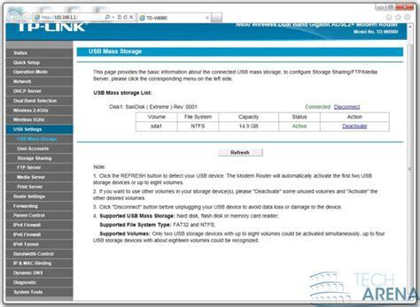 TP-Link TD-W8980 Software e interfaccia grafica 27   TechArena