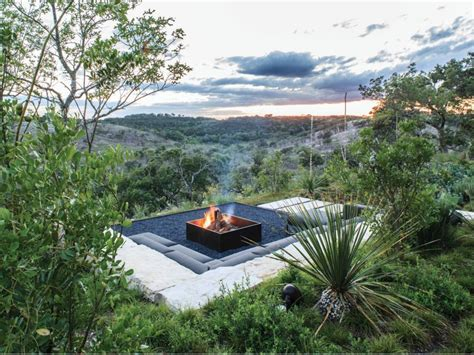 pit landscaping rustic style fire pits hgtv