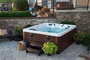 backyard ideas for hot tubs and swim spas regarding hot