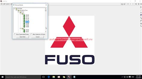 Mitsubishi Fuso Parts Catalog by Mitsubishi Fuso Trucks Epc 2018 Parts Catalog