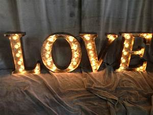 marquee letters 18 inch tall love sign by from With 18 marquee letters