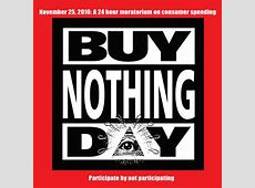Thoughts on Buy Nothing Day TreeHugger