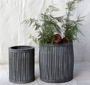 Planters: glamorous large metal plant pots Large Outdoor ...